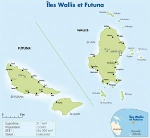 Carte Wallis et Futuna