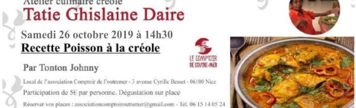 Affiche atelier poisson créole (1)